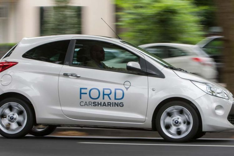 Ford Seeks Own Path to Car Sharing, IoT