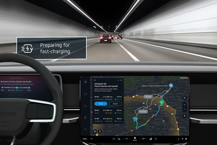 TomTom's enhanced suite tackles electric vehicle 'range anxiety'